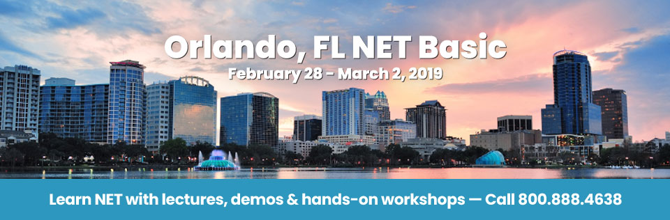 February 28 - Mardch 2, 2019 - Orlando, FL NET Basic