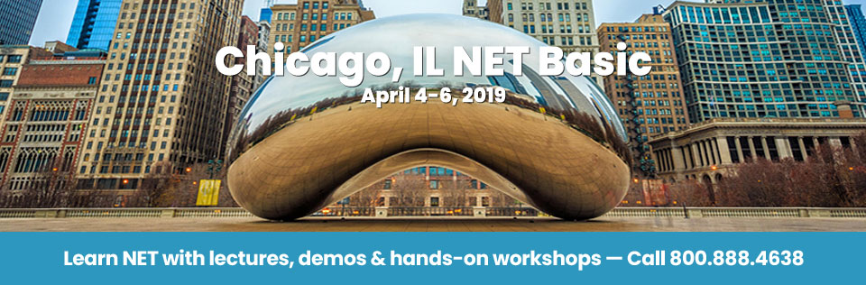 April 4-6, 2019 - Chicago, IL NET Basic